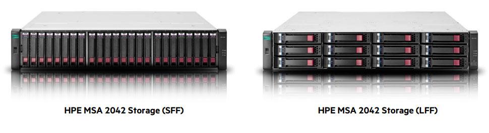 HPE MSA 2042 SAN Storage Server