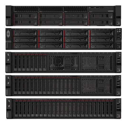 Lenovo Rack Server bei Serverhero