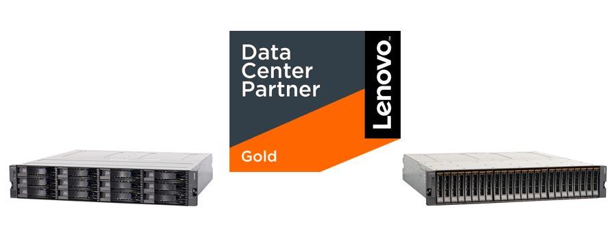 Lenovo beim Gold Partner Serverhero